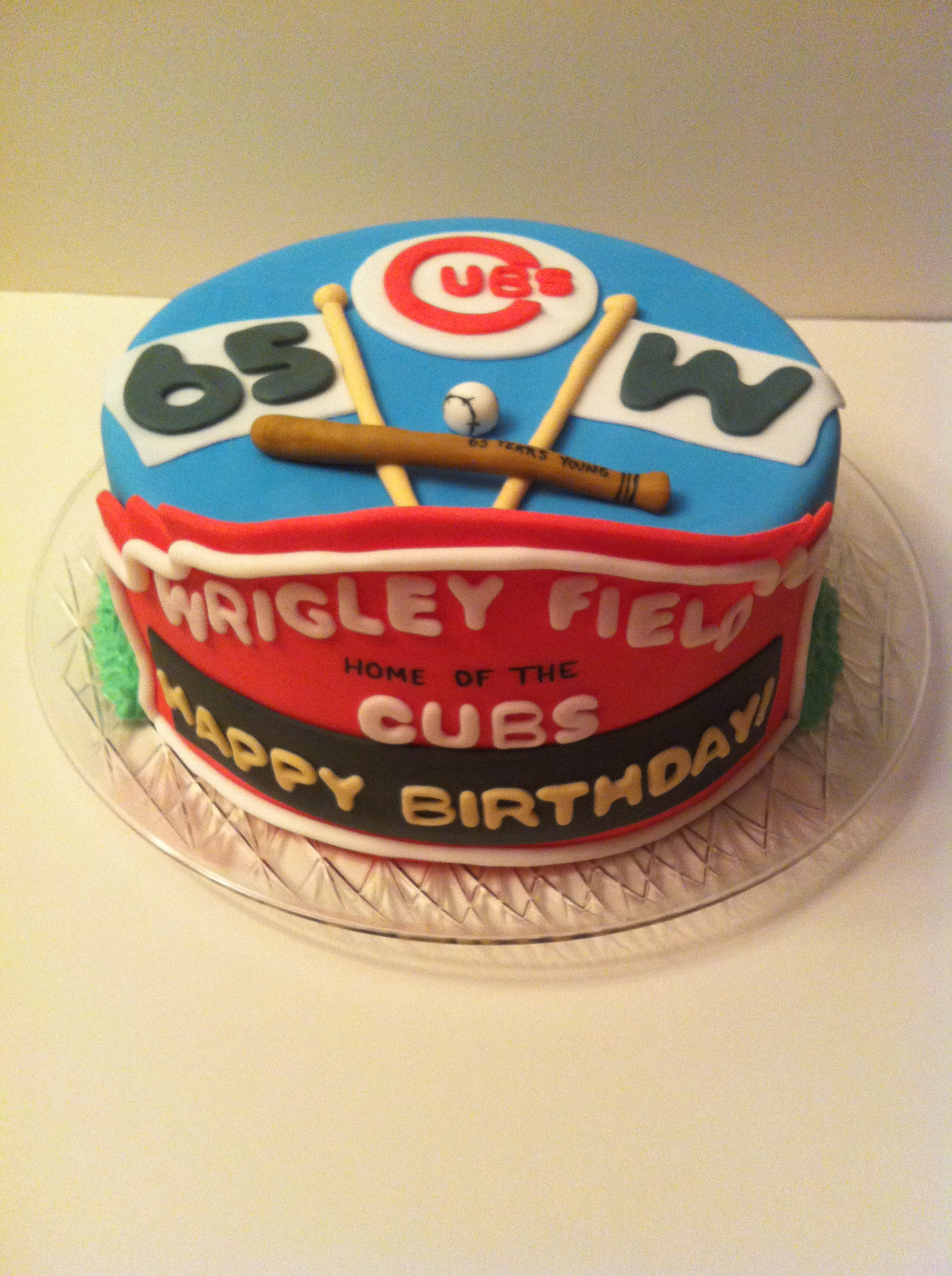 Fantastic Chicago Cubs Cake Cakes By Cathy Chicago Funny Birthday Cards Online Ioscodamsfinfo
