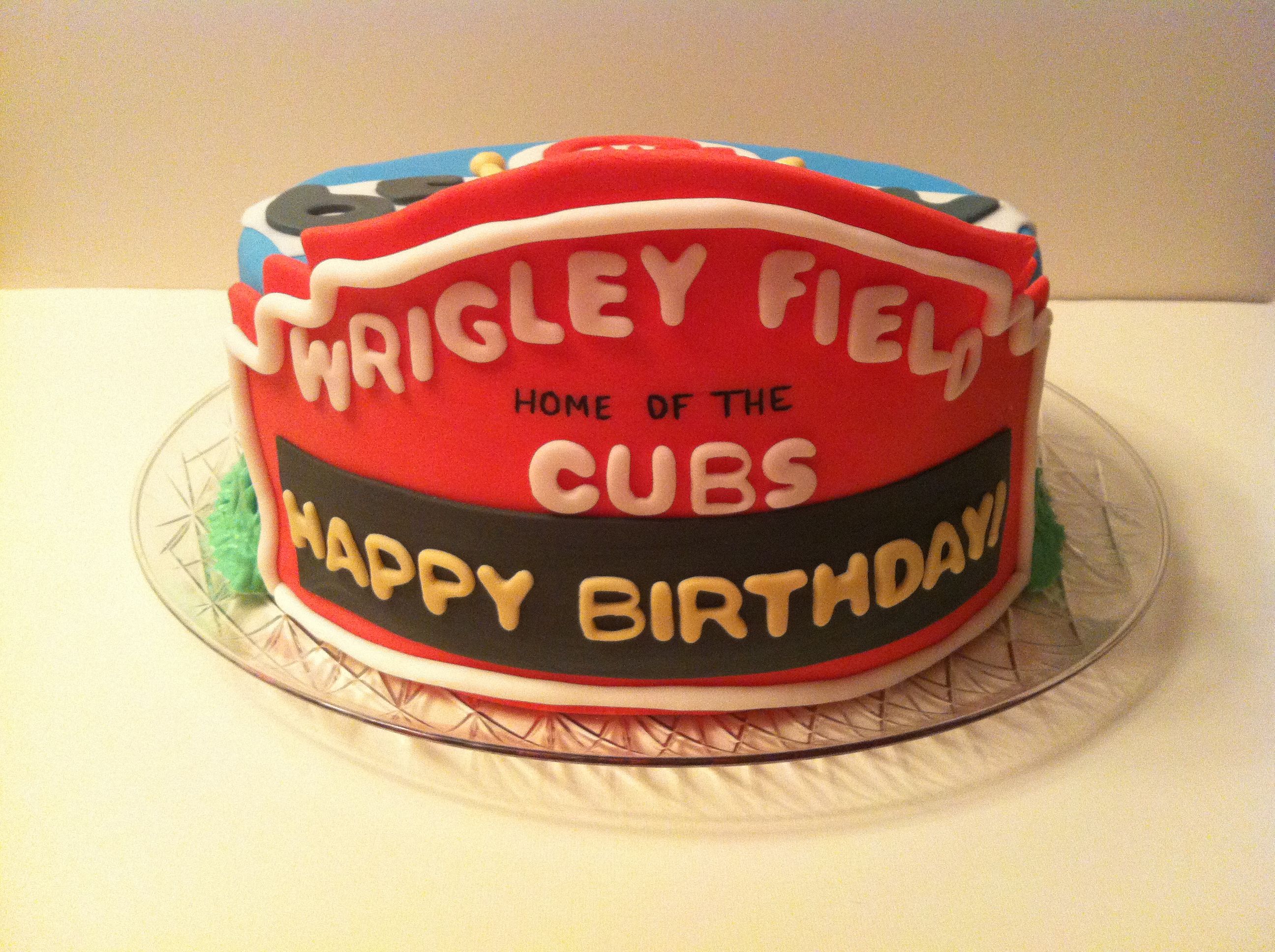 A Cubs Fans Celebration Cakes By Cathy Chicago