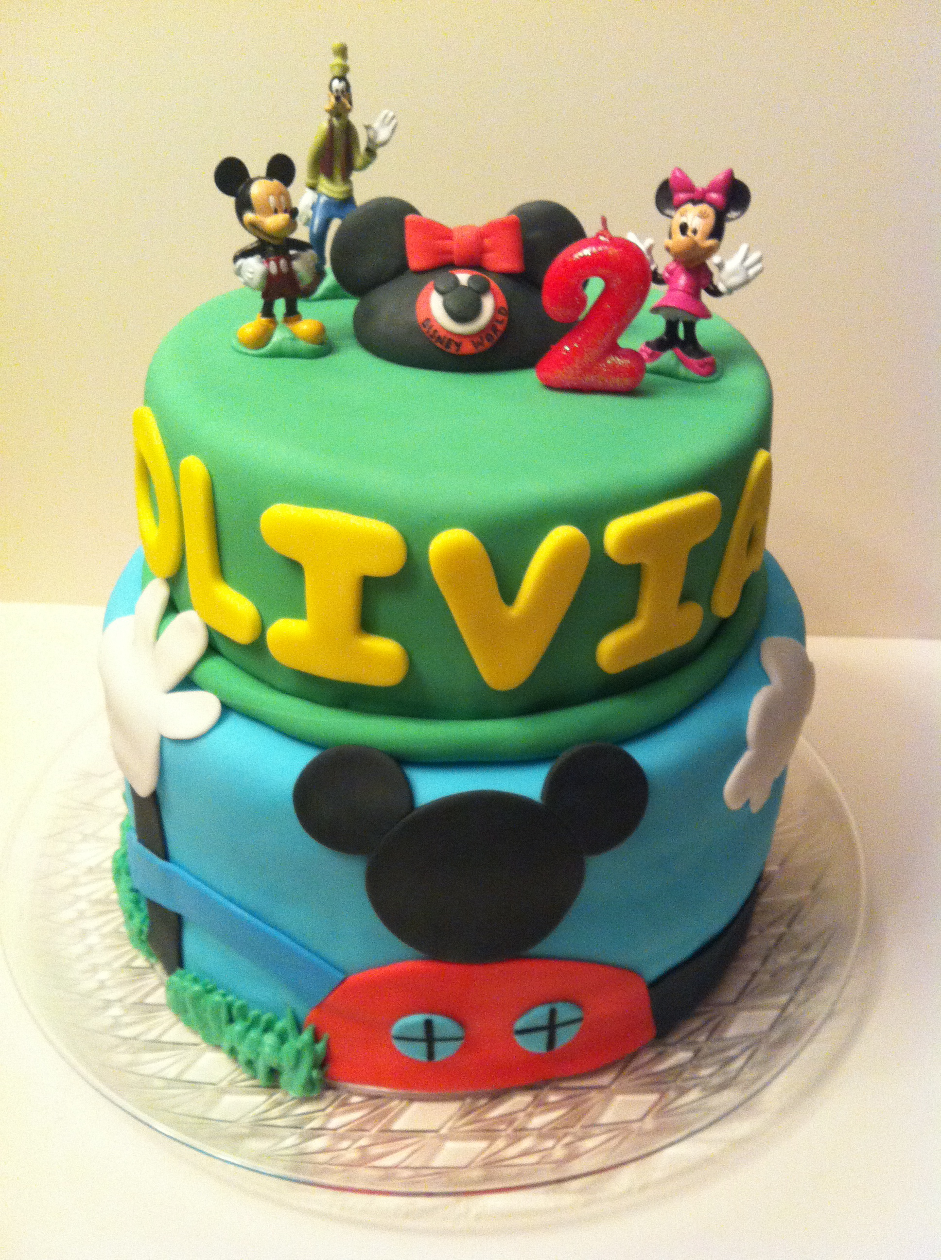 Mickey Mouse Clubhouse Cakes By Cathy Chicago