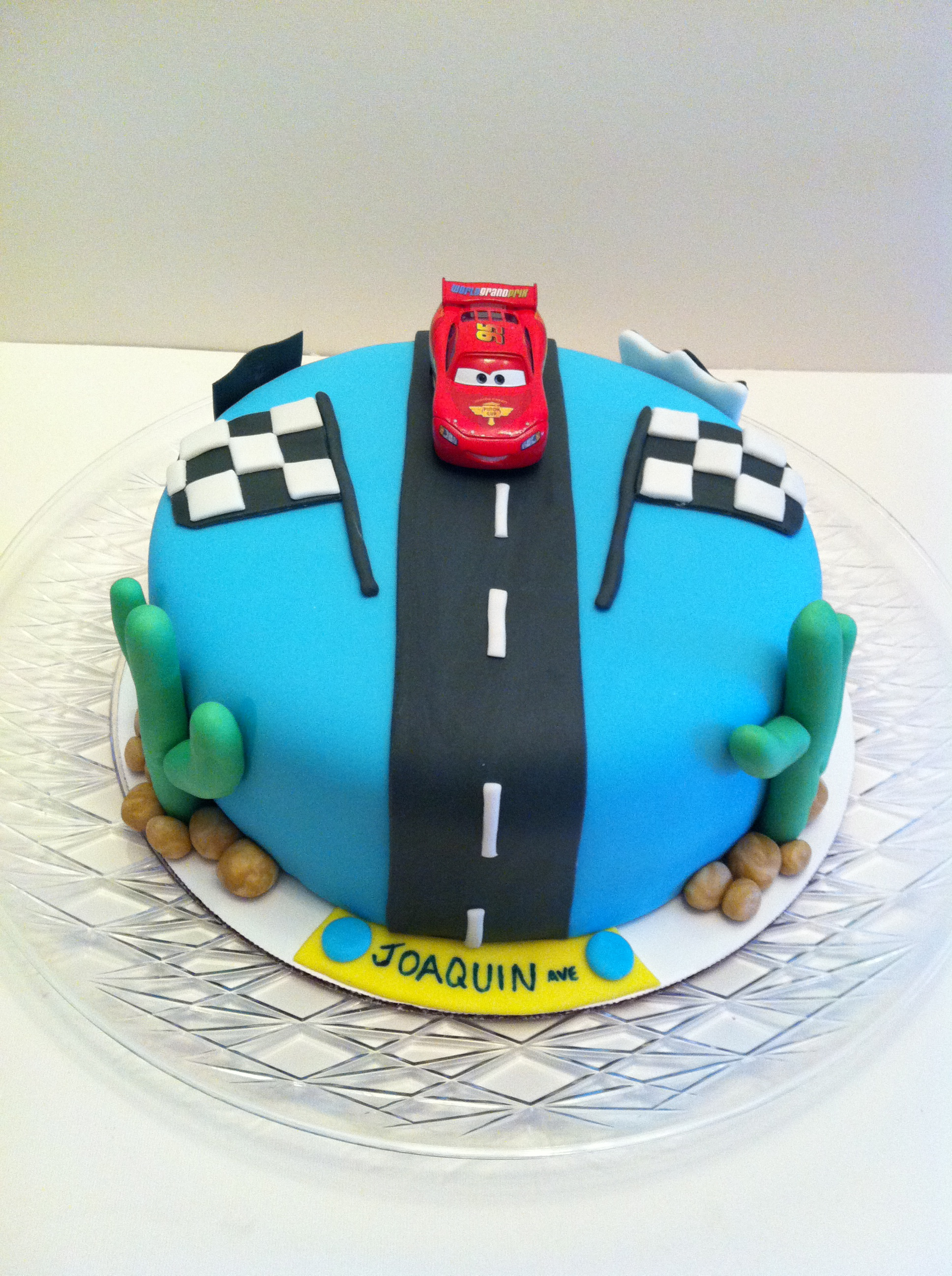 Lightning Mcqueen Cakes By Cathy Chicago