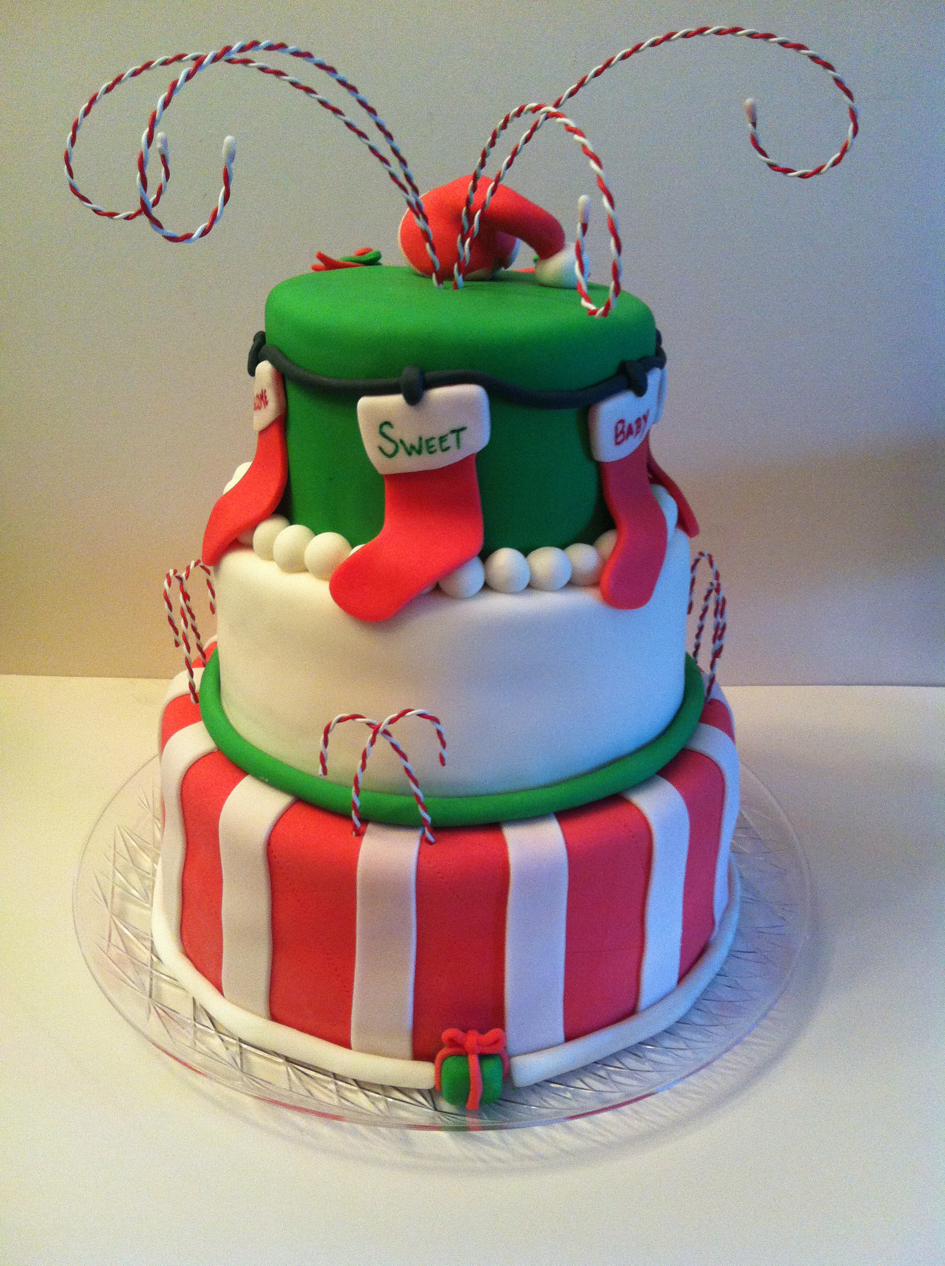 Christmas Baby Shower Cakes By Cathy Chicago