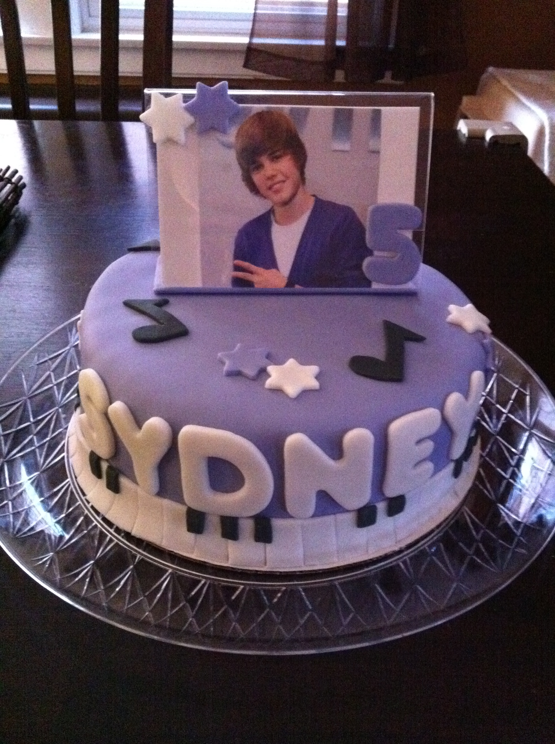 Stupendous Justin Bieber Cakes By Cathy Chicago Funny Birthday Cards Online Elaedamsfinfo