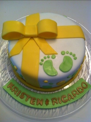 baby shower baby prints gender neutral cakes by cathy chicago