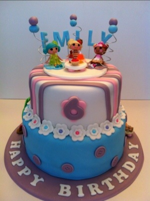 Birthday Cake Images Emily : Lalaloopsy cake Cakes by Cathy~ Chicago