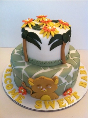Baby Simbathe Lion King Baby Shower Theme Cakes By Cathy Chicago