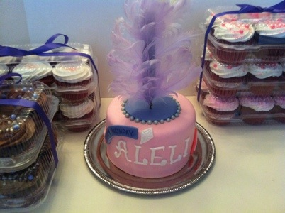 Little Diva Turns 1 Alelis Cupcake Tower
