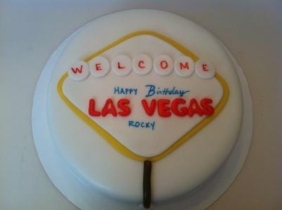Vegas Style Birthday Cakes