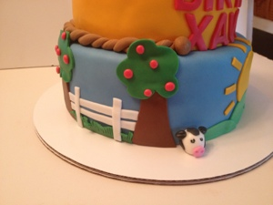 A Barn Bash Happy Birthday Xavier Cakes by Cathy Chicago