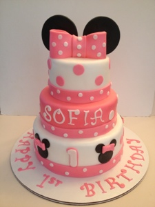 Minnie Mouse Cake Cakes By Cathy Chicago