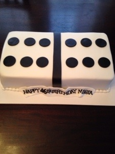 domino cake Cakes by Cathy Chicago