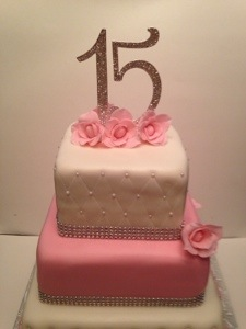 Sweet 15 Cake Cakes By Cathy Chicago