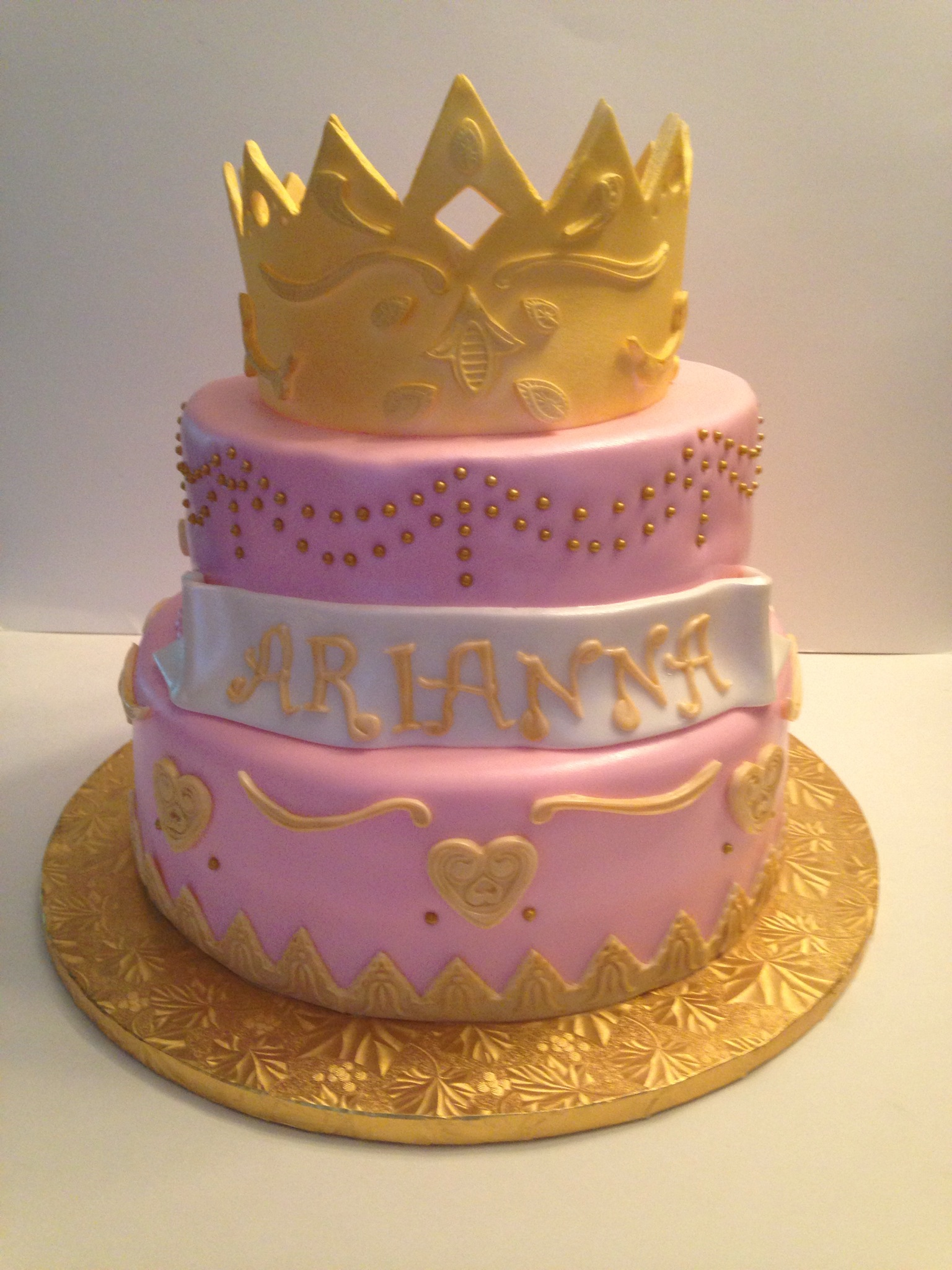 First Birthday Princess Celebration Cakes By Cathy Chicago