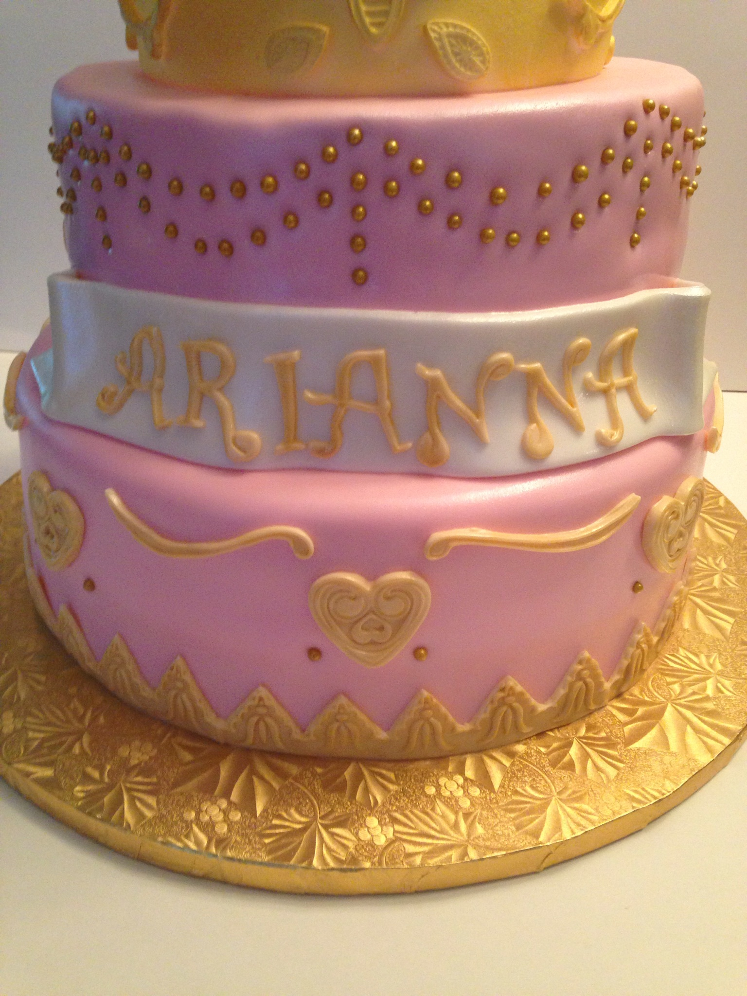 Princess Cake Ideas For Baby Shower : baby shower princess cake Cakes by Cathy~ Chicago