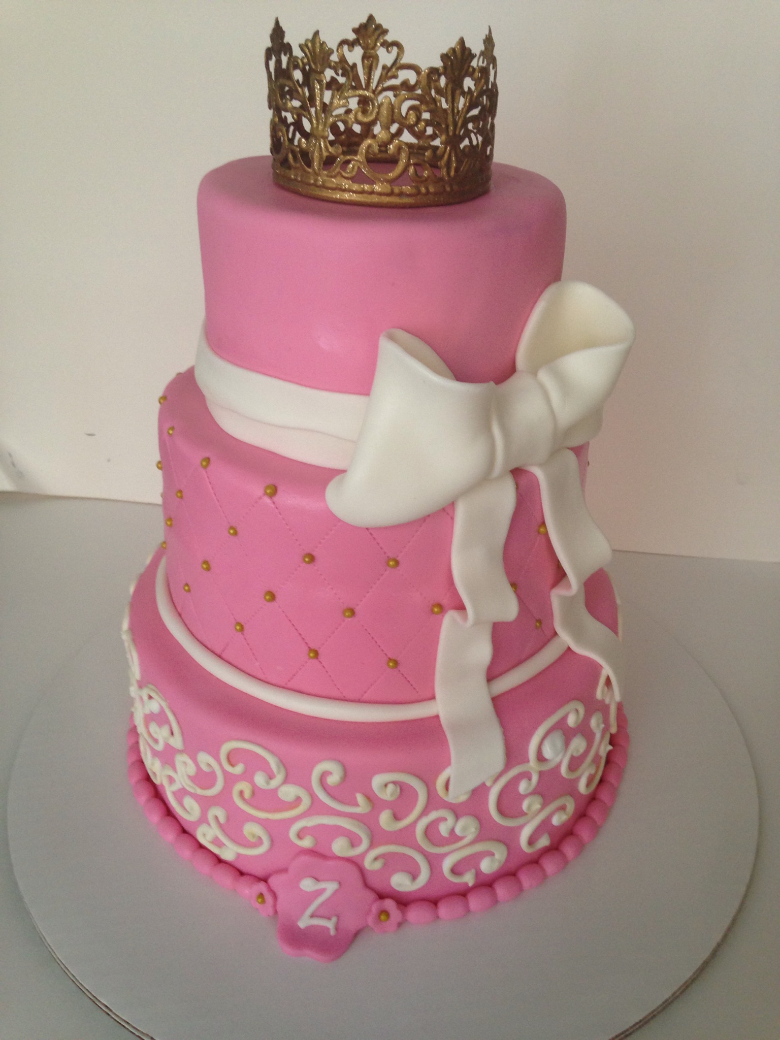 baby shower princess cake Cakes by Cathy~ Chicago