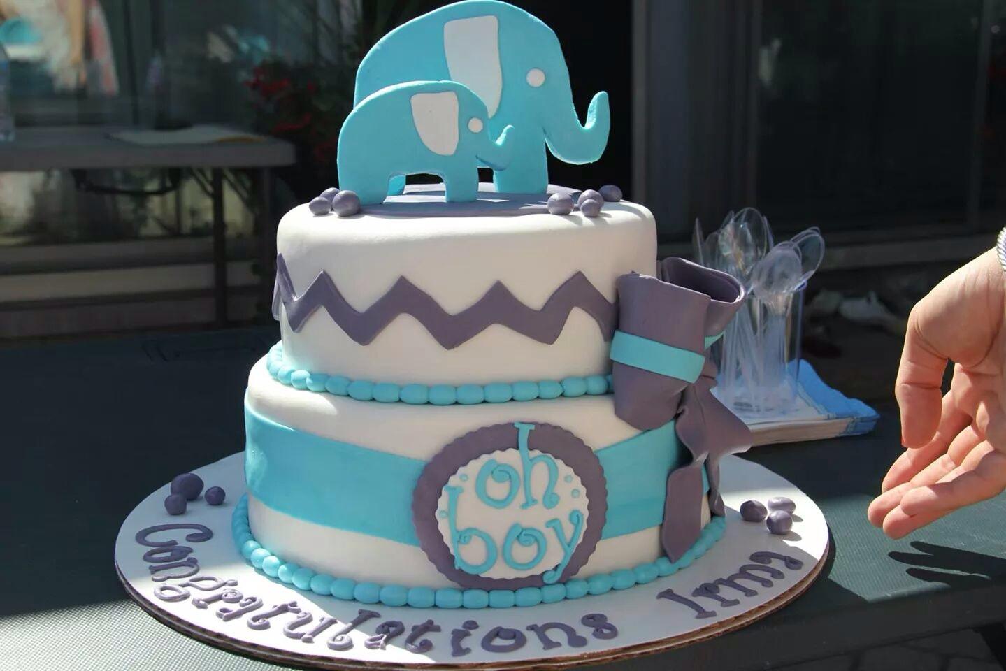 cupcake shower blue and amazon decor slp picks elephant food com elephants gray mixed toppers themed baby