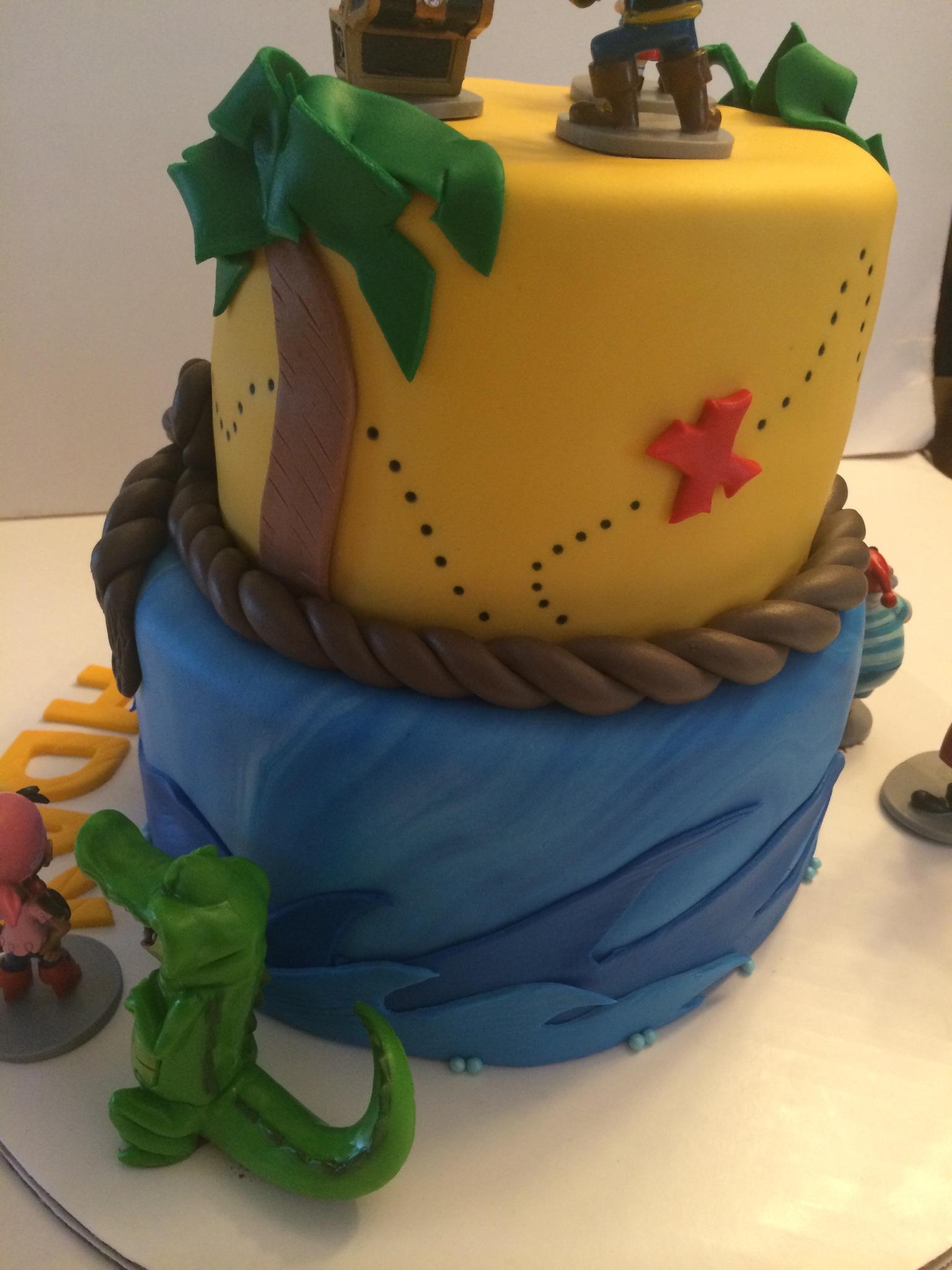 Disney Junior CakesLittle Einstein Jake and the Neverland Pirates